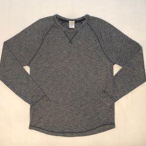 Heather blue Abercrombie Sweatshirt